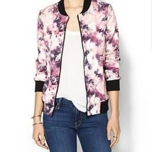 Wilde Heart Floral Bomber Jacket